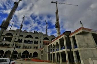 Çamlıca Camii İnşaatında Sona Yaklaşıldı