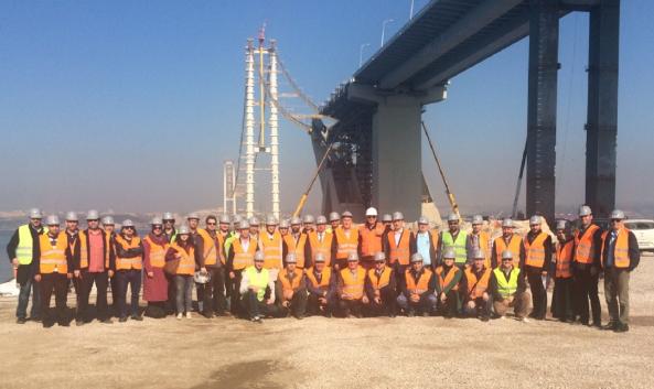 Mühendisler Dünyanın En Büyük 4. Köprüsünü Gezdi