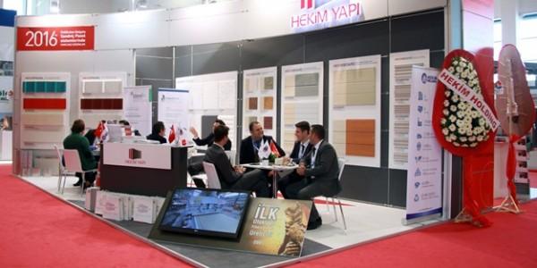 Hekim Yapı; Ankara Yapı Fuarı ve 21. Yapı Fuarı Turkeybuild İzmir'de