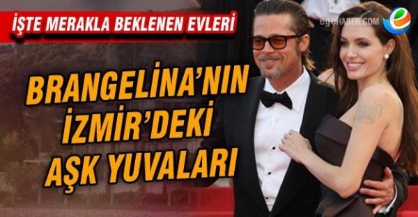 İşte Brad Pitt Ve Angelina Jolie'nin Urla'daki Villası