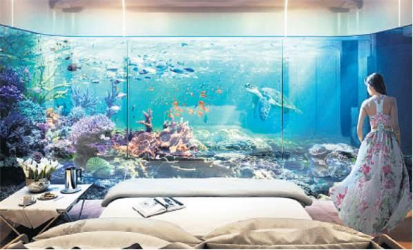 İşte Dubai'nin Yüzen Evleri