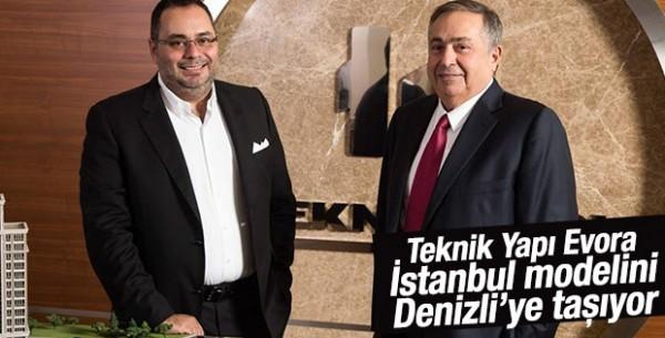 Teknik Yapı, Evora İstanbul Modelini Denizli'ye Taşıyor