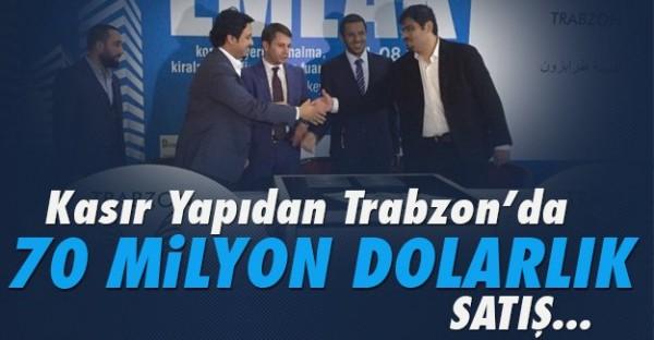 Trabzon'da Dev Satış!