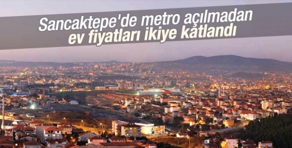 Üsküdar Metrosu Emlak Fiyatlarını Uçuracak!
