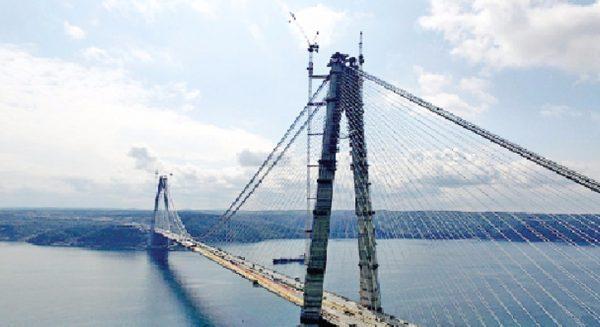 Yavuz Sultan Selim Köprüsü 9 Güne Bitiyor!