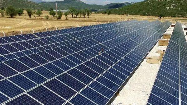 """Antalya'nın """"Güneş Enerji Santrali"""" Üretime Hazır"""