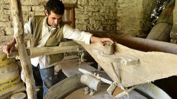 300 Yıllık Su Değirmenin Ünü Yayıldı, Talebe Yetişemiyor!
