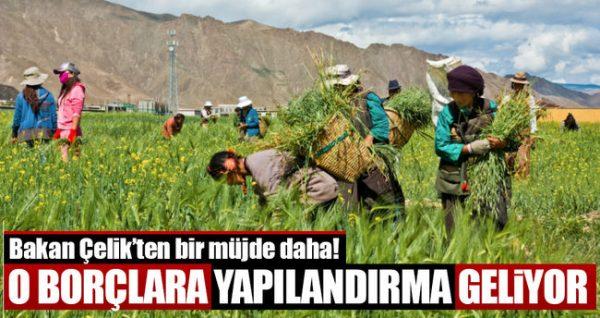 Çiftçi Borcunu 5 Yılda Ödeyecek