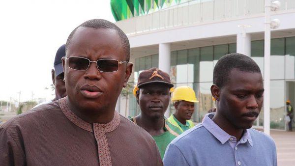 Senegal Spor Bakanı Ba: Türkler İnşaat İşini Harika Yapıyor