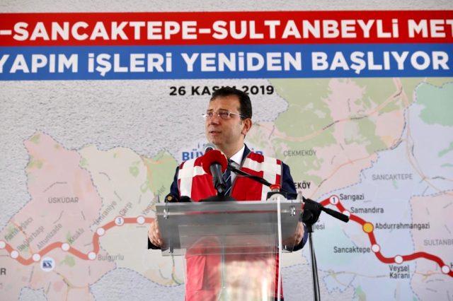 Çekmeköy–Sancaktepe–Sultanbeyli Metro Hattı'nda Çalışmalar Yeniden Başladı