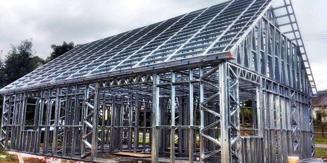 Deprem Korkusuna Çelik Yapı Ev Villalar ile Son