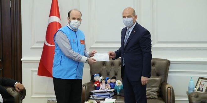 """İçişleri Bakanı Soylu'dan TDV'nin """"İyilik Konutları""""na Destek"""