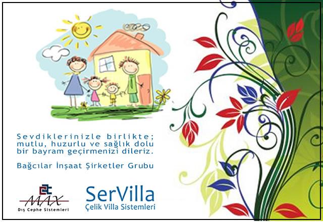 SerVilla Çelik Villa: Kurban Bayramınızı Tebrik Ederiz!