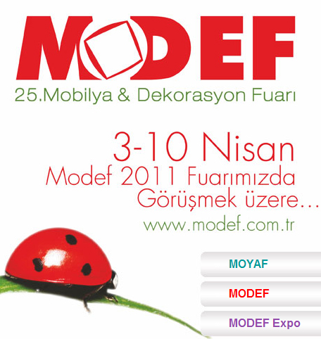 25. Mobilya ve Dekorasyon Fuarı, 3 Nisan'da Başlayacak!