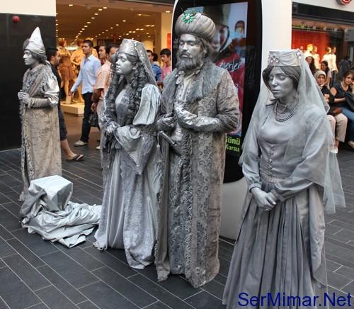 Forum İstanbul'da Kanuni, Hürrem ve Pargalı Canlı Canlı!